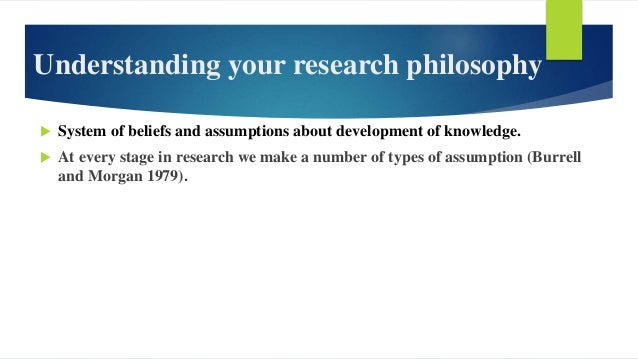 Developing your research philosophy: a reflexive process Source: Alexandra Bristow and Mark Saunders 2015