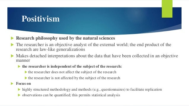 Realism  A philosophical position which relates to scientific enquiry.  The essence of realism is that what the senses s...