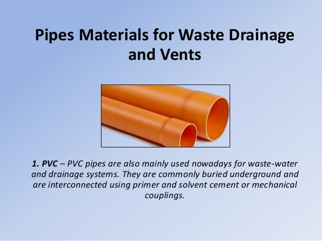 Understanding Pipe Materials For Your Plumbing Project Aqua Maintain