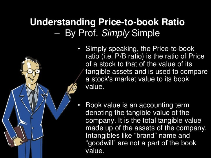 Understanding Price-to-book Ratio    – By Prof. Simply Simple          • Simply speaking, the Price-to-book            rat...