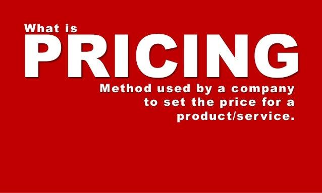 Understanding Pricing Slide 3