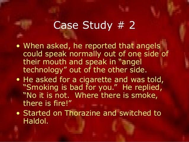 case study schizophrenia undifferentiated type