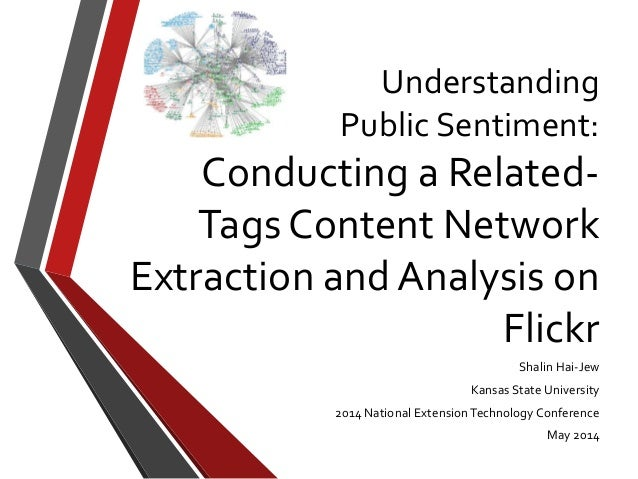 Understanding Public Sentiment: Conducting a Related- Tags Content Network Extraction and Analysis on Flickr Shalin Hai-Je...