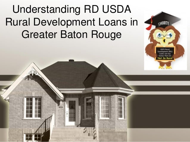 Understanding Rd Usda Rural Development Loans In Greater
