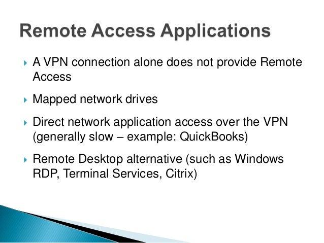Understanding remote access technologies (Nov 16, 2011