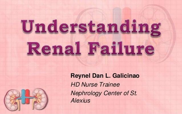 Reynel Dan L. Galicinao HD Nurse Trainee Nephrology Center of St. Alexius