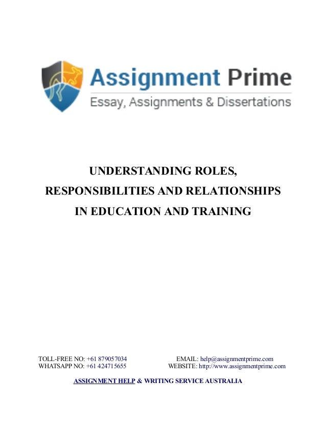 Ptlls roles and responsibilities essay
