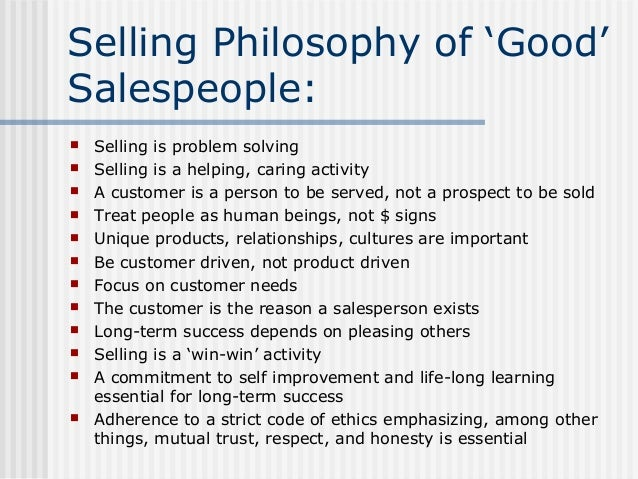 what makes a great salesperson