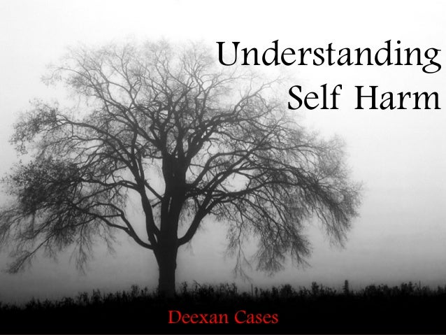 Understanding        Self HarmDeexan Cases