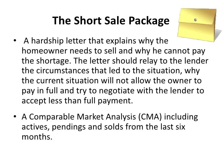 Understanding short sales for Short sale marketing letter