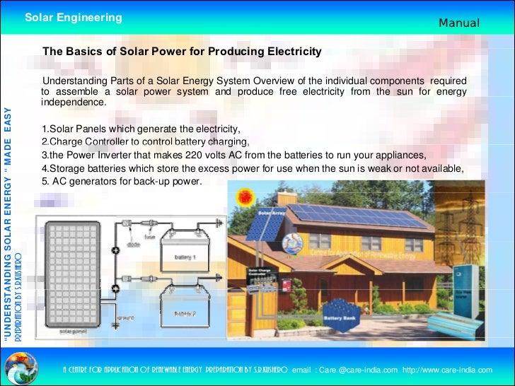 Understanding Solar Energy