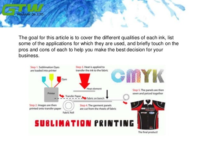 Understanding solvent ink before you have a wide Slide 3