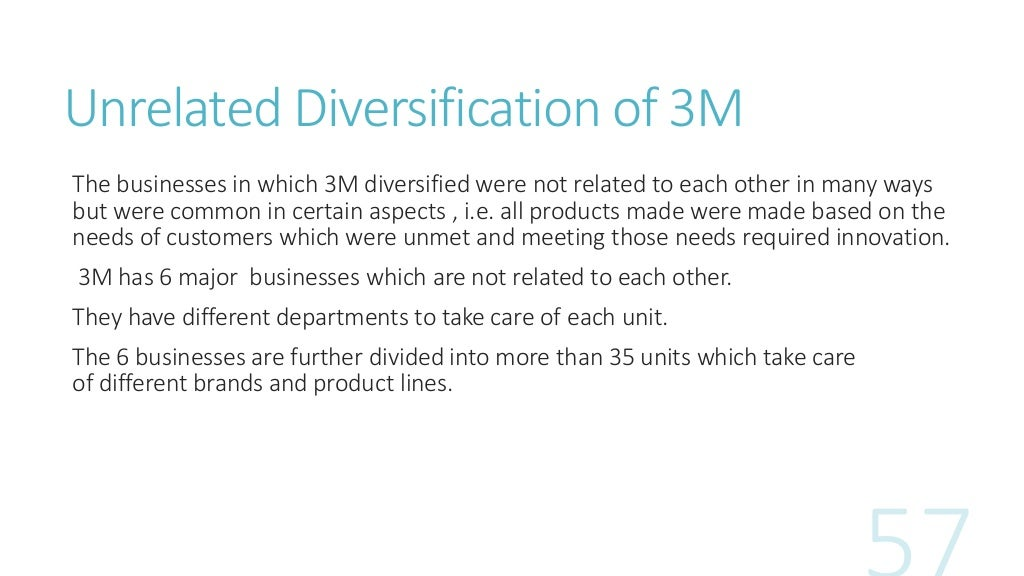 understanding diversification in business Diversification may be a viable strategy for publishing companies to survive in   several ways to a current activity but may still require the understanding of a.