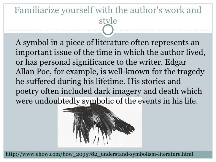 the importance of symbolism in literature