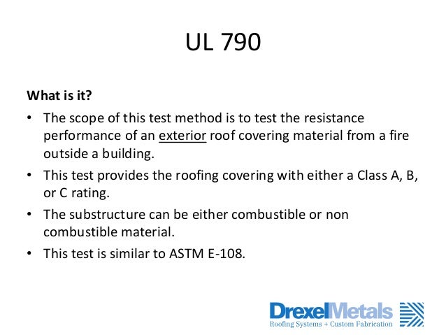 Understanding Tests And Engineering Of A Metal Roof Systems