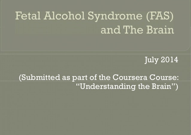 "July 2014 (Submitted as part of the Coursera Course: ""Understanding the Brain"")"