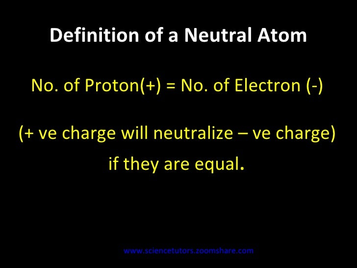 Electrically neutral  definition of Electrically neutral