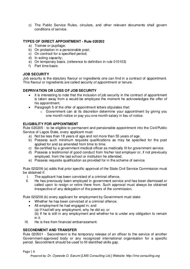Understanding the civil service rules amp its components 6 altavistaventures Images