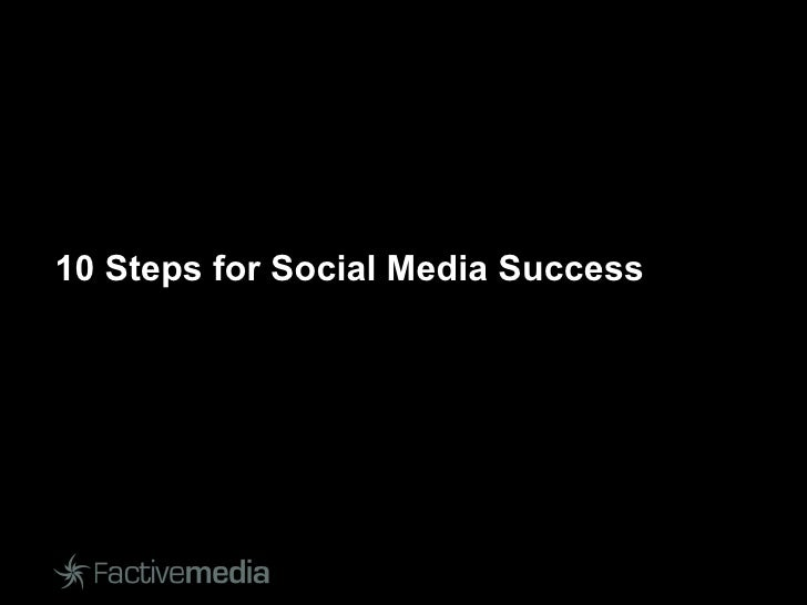 10 Steps for Social Media Success