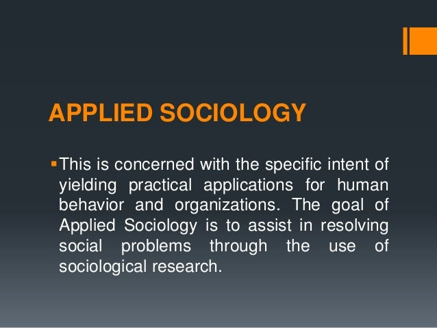 examples of sociological concepts
