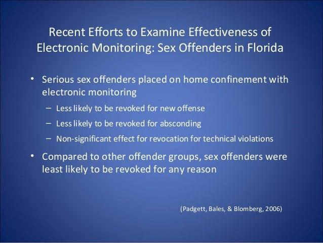 understanding the electronic monitoring of sex offenders in Tamuert