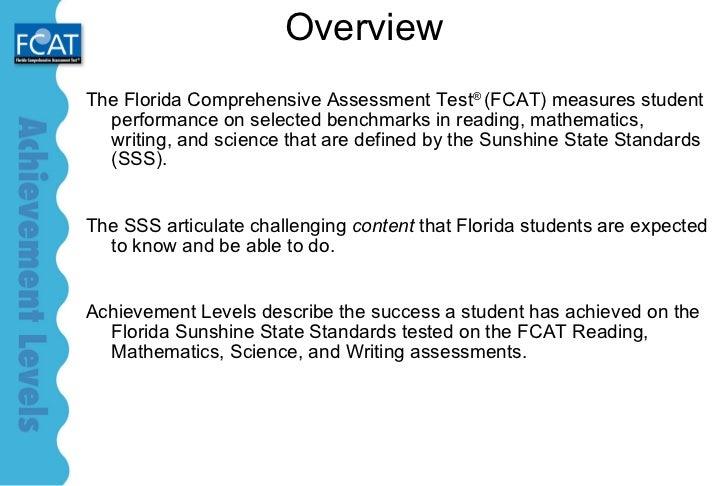 Florida Comprehensive Assessment Test (FCAT)