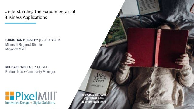 CHRISTIAN BUCKLEY | COLLABTALK Microsoft Regional Director Microsoft MVP MICHAEL WELLS | PIXELMILL Partnerships + Communit...