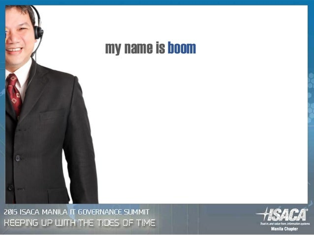 my name is boom