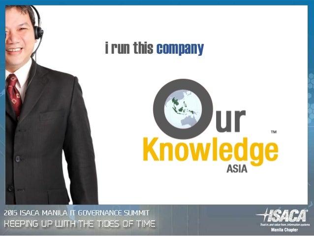 i run this company