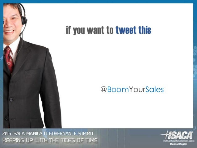 if you want to tweet this @BoomYourSales