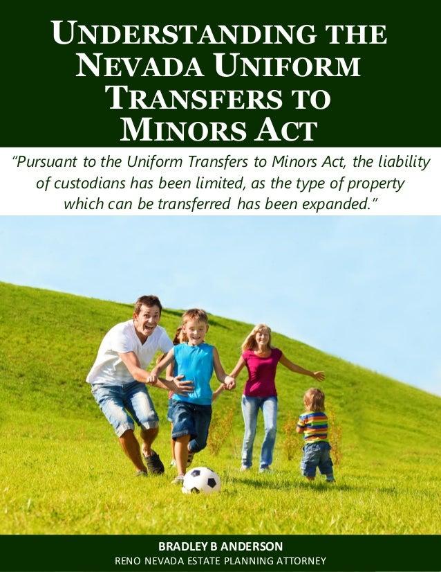 Understanding the Nevada Uniform Transfers to Minors Act