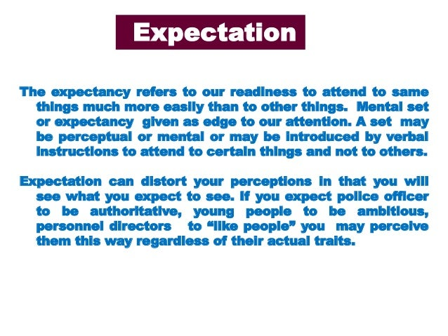 role perception definition The perception of art thus requires some form of active role this can be extended to any medium, as in order to understand a medium, we must use perception as the intermediary, which in.