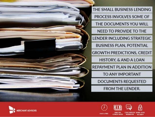 Understanding The Small Business Lending Process Slide 3