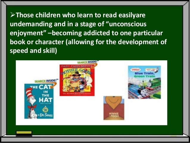 Level 3: Losing Oneself in a Story (Ages 9-11: Grades 4-6 )Time outside of school for reading, lesstelevision time, and u...