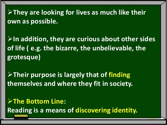 Level 5: Venturing Beyond Self(Ages 15-18: High School)The person goes beyond his/heregocentrism and looks at the largerc...