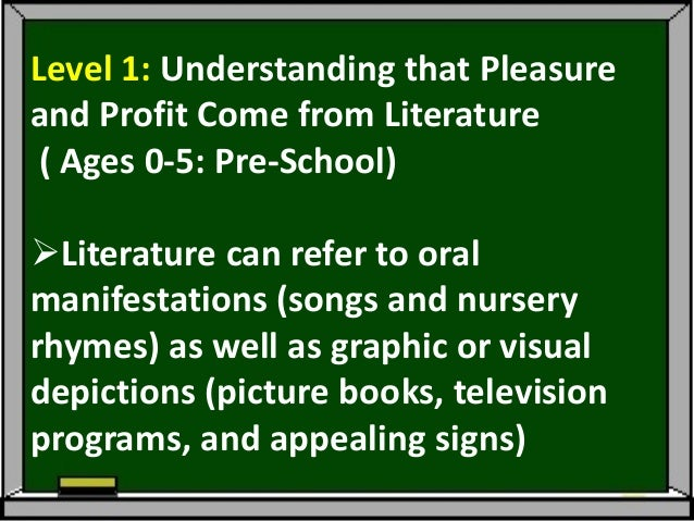 The literary experience is a social oneAdults sharing; going to bookstoresand libraries; talking about T.V.programs and ...