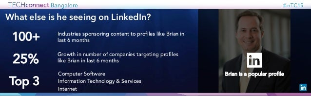 So what do you need to do to reach Brian? Know your audience Take action Engage with relevance