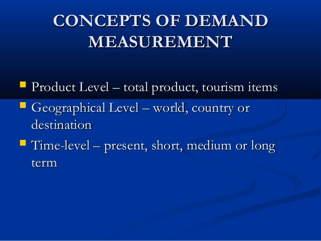why is demand important in tourism Creation for fiji, tourism is without a doubt an important industry for fiji given the   were used to construct a tourism demand model for fiji.