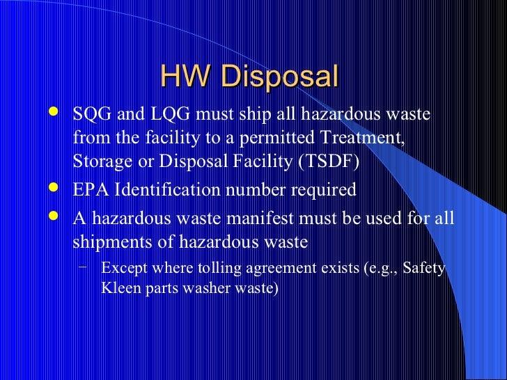 Understanding Universal & Hazardous Waste