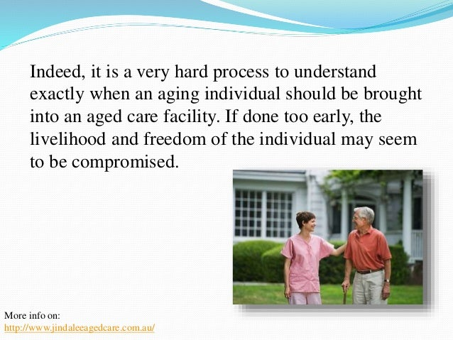 First of all, it is important that the entire family of  the aging individual work together when planning to  move in an a...