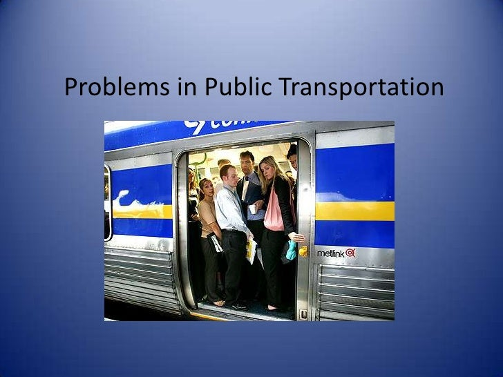 Problems in Public Transportation