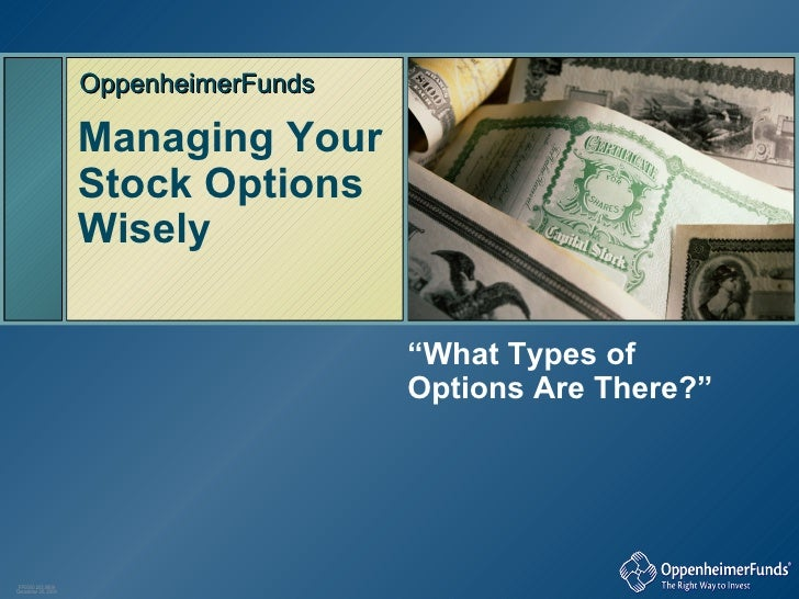 Understanding incentive stock options