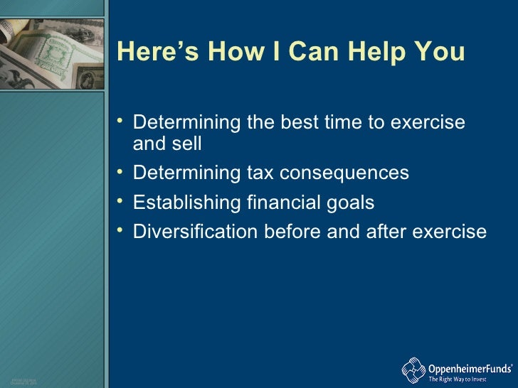When is best time to exercise nonqualified stock options