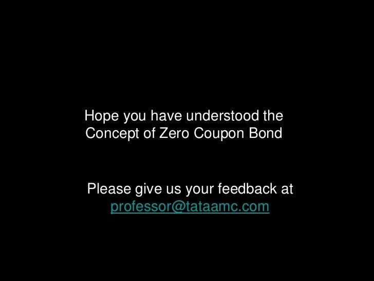 Zero coupon bonds taxation