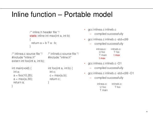 c max function