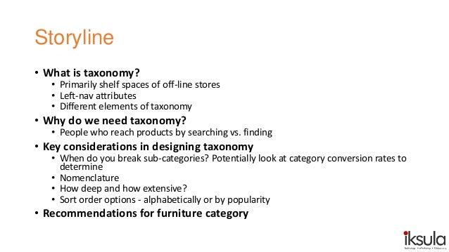Understanding Website Taxonomy Slide 2