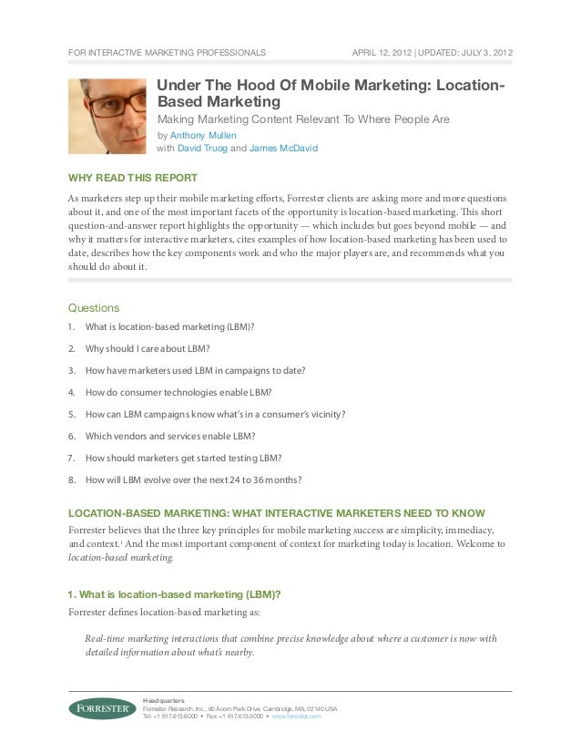 For Interactive Marketing Professionals                                                     April 12, 2012 | Updated: July...