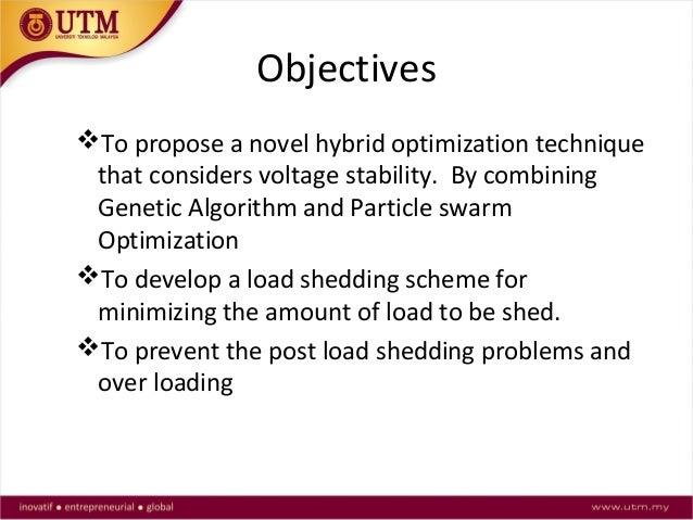 Under Voltage Load Shedding