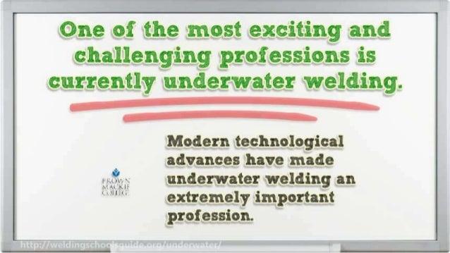 Underwater Welding Schools Slide 3