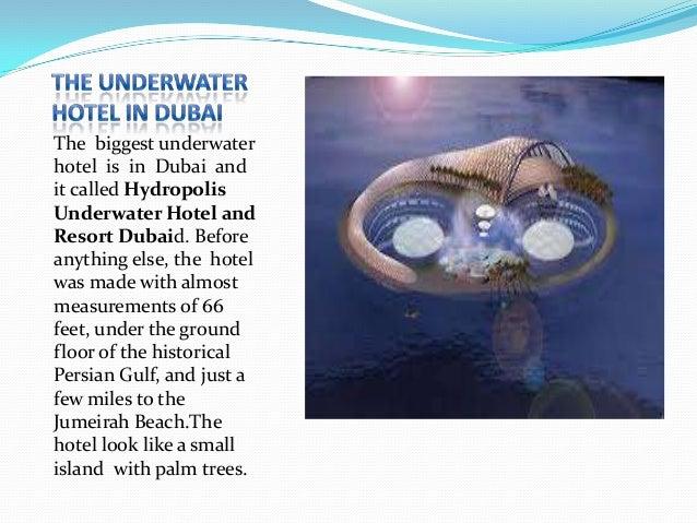 Underwater hotel presentation kaloyan